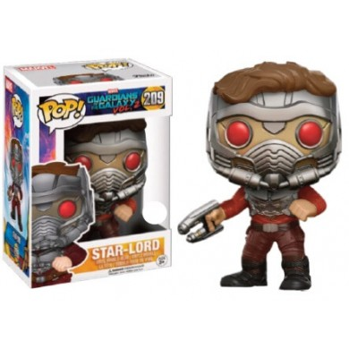 Funko Pop! Marvel: Guardians of The Galaxy 2 - Star-Lord in Mask Limited Edition