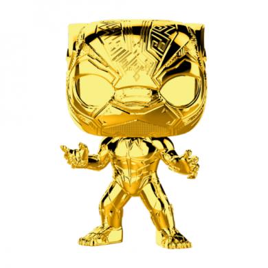 Funko Pop! Marvel Studios 10 - Black Panther (Chrome)