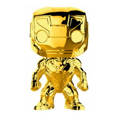 Funko Pop! Marvel Studios 10 - Iron Man (Chrome)