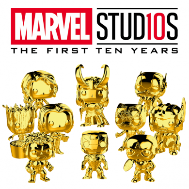 Funko Pop! Marvel Studios 10 Set (Chrome)
