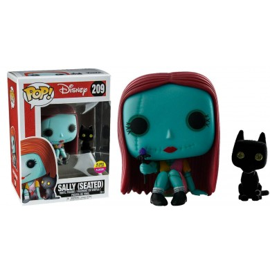Funko Pop! Disney: Nightmare Before Christmas - Seated Sally with Cat Exclusive