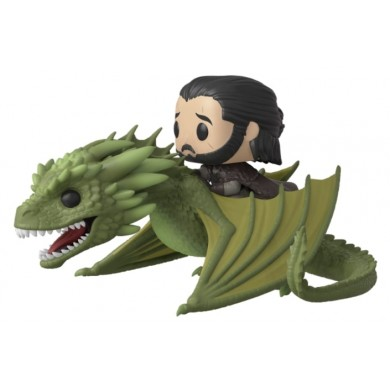 Funko Pop! Rides: Game of Thrones - Jon Snow with Rhaegal