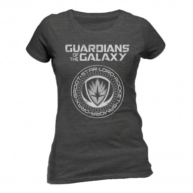 Marvel: Guardians of the Galaxy 2 - Crest Ladies T-shirt