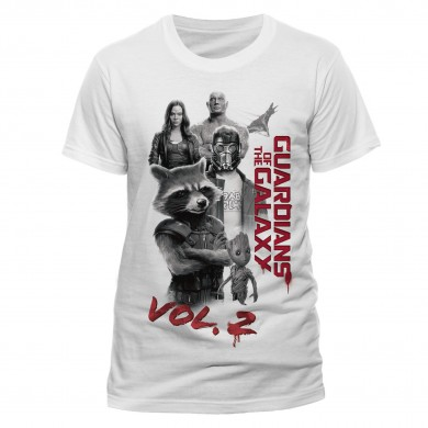 Marvel: Guardians of the Galaxy 2 - Characters T-shirt
