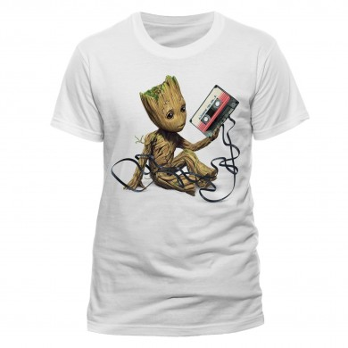 Marvel: Guardians of the Galaxy 2 - Groot & Tape T-Shirt
