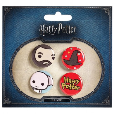 Harry Potter - Hagrid & Dobby buttons