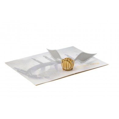 Harry Potter - Golden Snitch 3D Pop-Up Greeting Card