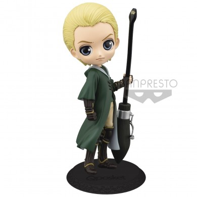 Harry Potter: Q Posket - Draco Malfoy Quidditch Mini Figure