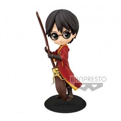 Harry Potter: Q Posket - Harry Potter Quidditch Mini Figure