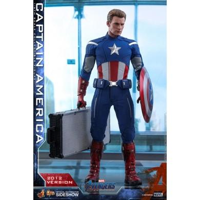 Hot Toys: Avengers Endgame - Captain America (2012 Version) 1:6 scale Figure