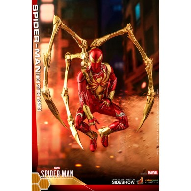 Hot Toys: Spider-Man Videogame - Spider-Man (Iron Spider Armor) 1:6 scale Figure