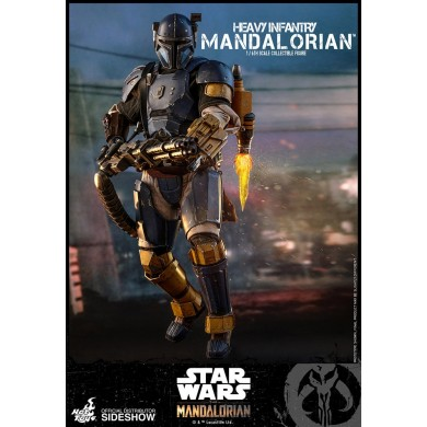 Hot Toys: The Mandalorian - Heavy Infantry Mandalorian 1:6 scale Figure