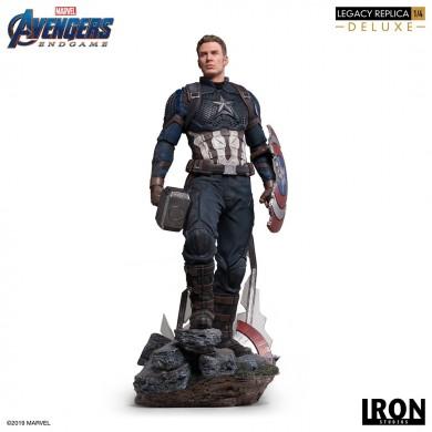 Avengers: Endgame - Captain America 1/4 scale deluxe statue