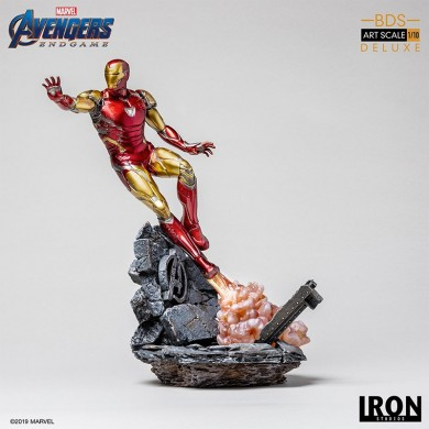Avengers: Endgame - Iron Man Mark 85 1/10 scale deluxe statue