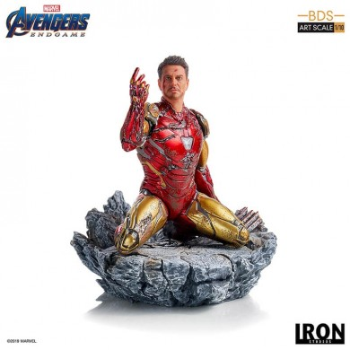 Avengers: Endgame - I am Iron Man 1/10 scale statue