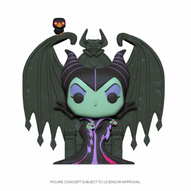 Maleficent on Throne - Funko Pop! Deluxe - Disney Villains