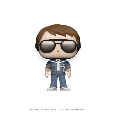 Marty with Glasses - Funko Pop! - Back to the Future