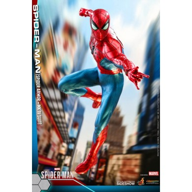 Spider Armor MK IV Suit 1:6 scale Figure - Spider-Man Game - Hot Toys