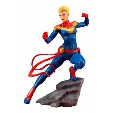 Marvel Universe: Avengers Series - Captain Marvel ARTFX+ PVC Statue