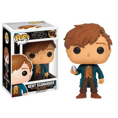 Pop! Movies: Fantastic Beasts - Newt Scamander with Egg