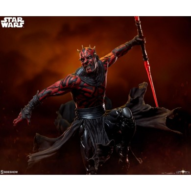 Darth Maul Mythos Statue- Star Wars - Sideshow Collectibles