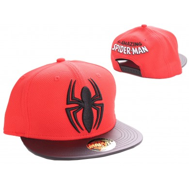 Marvel Comics: Spider-Man - Black Logo cap