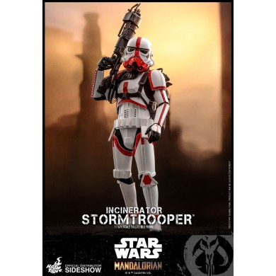 Incinerator Stormtrooper 1:6 scale Figure - The Mandalorian - Hot Toys