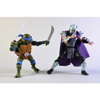 TMNT: Cartoon - Leonardo vs Shredder Action Figure 2-Pack
