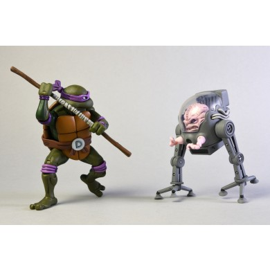 TMNT: Cartoon - Donatello vs Krang Action Figure 2-Pack