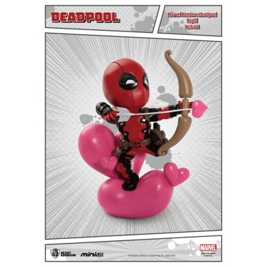 Marvel Comics - Deadepool Cupid Mini Egg Attack Action Figure