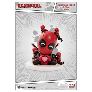 Marvel Comics - Deadepool Day Dream Mini Egg Attack Action Figure