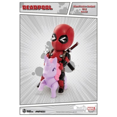 Marvel Comics - Deadepool Pony Mini Egg Attack Action Figure