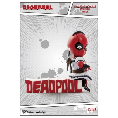 Marvel Comics - Deadepool Servant Mini Egg Attack Action Figure