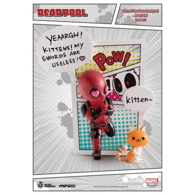 Marvel Comics - Deadepool Jump Out 4th Wall Mini Egg Attack Action Figure