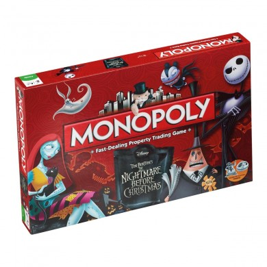 Monopoly: The Nightmare before Christmas (English)