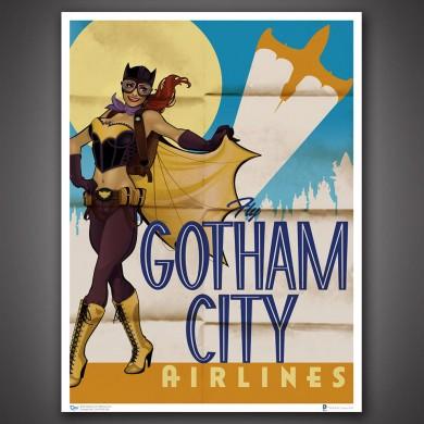 DC Comics Bombshells: Batgirl Art Print
