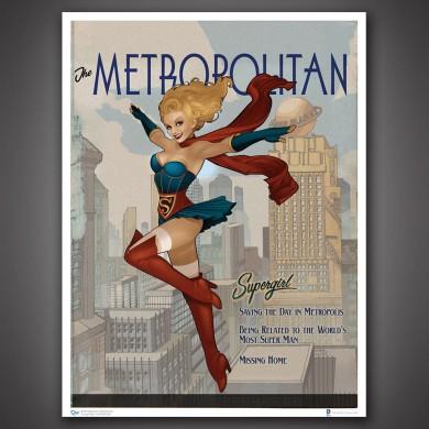 DC Comics Bombshells: Supergirl Art Print